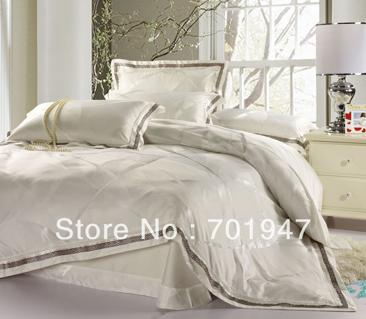 White King Size Comforter Set