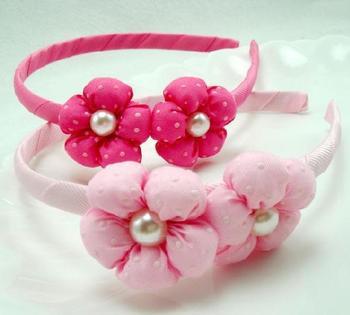 New style fashion cute pretty flowers hairwear for child C6158