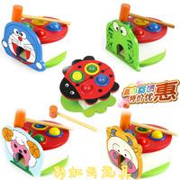Animal knock toy child wooden educational intelligence toys baby toy ty008