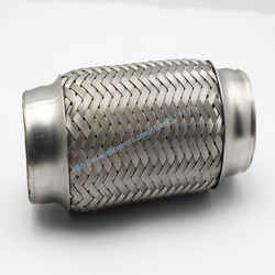 "1.75"" X 6"" (45x152mm) Exhaust Flexible Pipe Double Braided Steel(China (Mainland))"