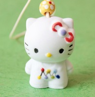 FREE SHIPPING!!!Ceramic crafts, Hello Kitty aeolian bells pendant