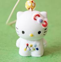 FREE SHIPPING!!!Ceramic crafts, Hello Kitty aeolian bells pendant