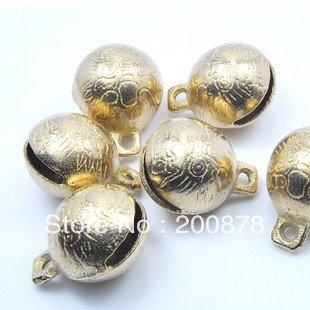 DIY Loose Beads NBB342 Nepal brass bells 7#,Dia.28mm,20pcs lot,Chinese character-dragon windbells,best offer(China (Mainland))