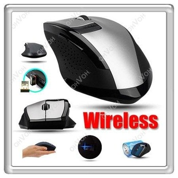 K5D 6 Key Wireless Magic Optical Mouse Mini USB adaper For Laptop Macbook Mac PC