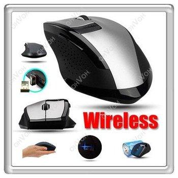 K5D 6 Key Wireless Magic Optical Mouse Mini USB adaper For Laptop Macbook Mac PC