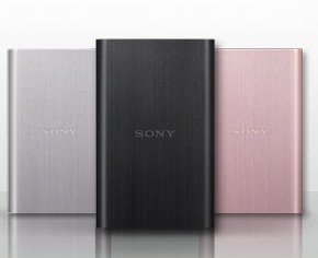 Sony mobile hard disk 500G brushed metal HD-EG5 high-speed 2.5-inch USB3.0