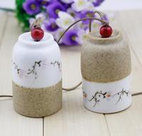 FREE SHIPPING!!!Ceramic crafts,Ceramic aeolian bells pendant,Family adornment