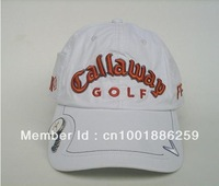 Wholesale Brand new Adjustable Golf hat cap  with a ball mark free shipping newest Style