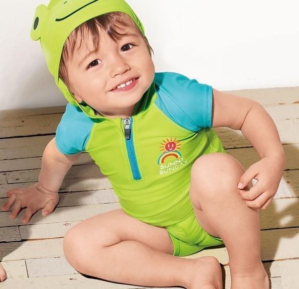 Бесплатная доставка мультфильм симпатичные животные мальчики маленькие девочки купальный костюм купальники детей бикини из двух частей утка купальники 619