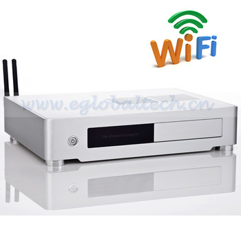 Low Cost Computer with Small Case Intel D2550 4G DDR3 320G HDD Vesa PC adding Wireless EPC
