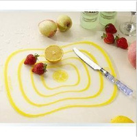 Small tools ultra-thin type fashion cutting board Small chopping board fruit plate chopping block cutting board