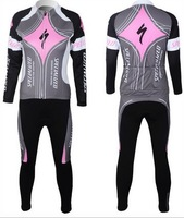 Female models long-sleeved cycling jerseys suit spring and autumn ladies cycling clothing