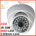 2013 IR 35 m  700tvl OSD mini cctv dome Sony CCD security camera free shipping
