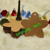 Wholesale,Kraft Paper Blank Gift Tag Retro Hang tag Labels DIY Tag