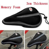 2012 New Cycling MTB Bike Bicycle Memory Foam Saddle Seat Cover Cushion Soft Pad
