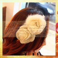 Romantic Girls headband RS0217 1pc Japan Korea style hairband accessories sweet wool Flower head band