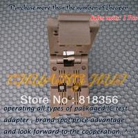 TSOC-6-2 Burn-in Socket TSOC-6 TSOC6 IC Test Socket/IC Socket(Two placement/Flip test seat)