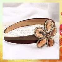 Sweet Girls headband RS0229 1pc Japan Korea style hairwear accessories fashin lucky flower hairband