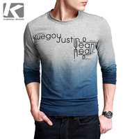 Free Shipping 2013 Holiday Sale! Fashion Man's T Shirt, Men Long Sleeve T Shirt, M,L,XL, In Stock KG01