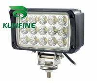 Cheap shipping !18months warranty !10~30V /45W Auto high power LED work Light for Truck Trailer SUV technical vehicle Boat