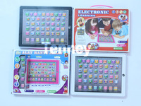 Free Shipping,Hi Pad 4 English educational toys,learning machine,Music & Light,Black\Pink\Blue\White 4 Colors,60PCS/Lot