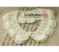 Handmade fake collar, For DIY Fashion Women Jewelry Flower Lace Collar , Free shipping
