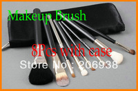 5PCS Professional Brush 8 Pieces/Set brush + leather Pouch .