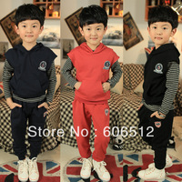 Free shipping new children boys sportswear suit