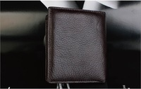 2013 New Genuine Leather Men Wallet Purse Brown Free Shipping  tb-28