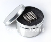 5mm Nickel Neocubes Magnetic Ball Buckyballs Round Tin Box Packing 216balls/set