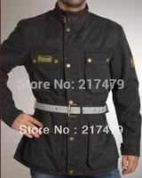 man windproof waterproof wax cotton batik  belsta XL500 motor jacket