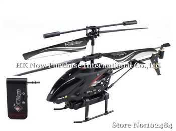 WL S215 3.5CH iPhone/Android Controlled Radio Control Helicopter With Build-in Camera Toy Gift for Kids Drop Shipping