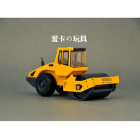 Toy alloy roller wheel series road roller car model