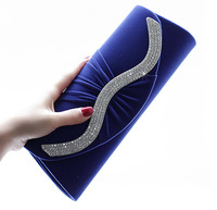 Crystal Fashion Ladies Evening Bags Handbags Purses Model 6481 with Free Shipping