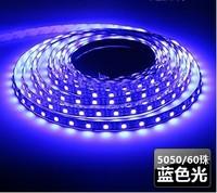 HOT SALES ! Waterproof SMD 5050 Led strip light 60led/m Blue color IP65