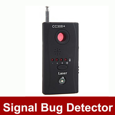 CC308+ Multi Detector Full-Range All-Round Detector For Hidden Camera /IP Lens/GMS BUG / RF Signal Detector Finder Free Shipping(China (Mainland))