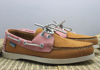2013 new arrive man sneakers for men 100% cow leather man/women boat shoes causal shoes flats size:36 to 46