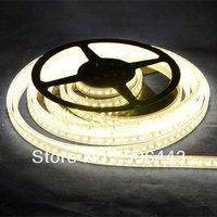 Free shipping,DC12V 5M 600 SMD 3528 LED Strip Warm White light,Non-Waterproof +72W Power Supply + DC Socket