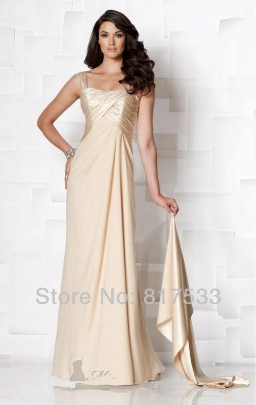 robes d'occasion spéciale en mousseline de soie satin pli perles robe ...