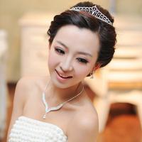 The bride accessories bridal accessories necklace marriage accessories piece set the bride necklace set decoration