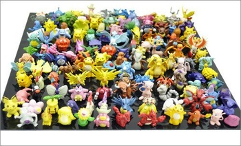 Wholesale 144pcs/Lots Pokemon Action Figures 2-3cm Free Shipping