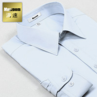 Long-sleeve shirt slim commercial easy care men's clothing shirt male