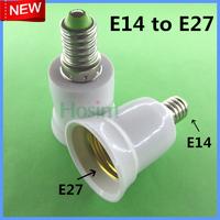 10pcs E14 to E27 Light Lamp Bulbs Adapter Converter NEW LED Halogen Light Bulb E14 to E27 Lamp Adapter lamp holder&Free Shipping