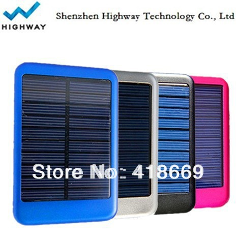5000mA/h portable mini solar charger