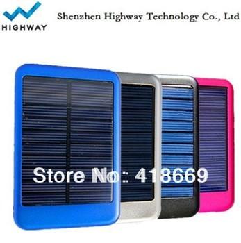5000mA/h portable mini solar charger
