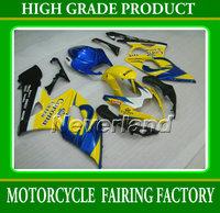 ABS plactic blue/yellow fairing kit for SUZUKI 2005-2006 GSXR1000 K5 05 06  GSXR1000 motorcycle fairing kit sets