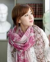 2013 spring autumn and winter silk scarf rustic scarf long design cape women's muffler scarf