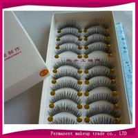 Handmade false eyelashes book hot-selling super natural dense e-5 10 cotton eyelash box