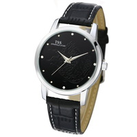 Tss chinese style quartz watch mens watch waterproof male watch strap lovers watch