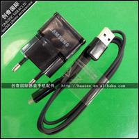 2A Black EU plug Wall Charger For Samsung Galaxy S3 I9300 I9100 i9000,i9003 ETC With Free Shipping